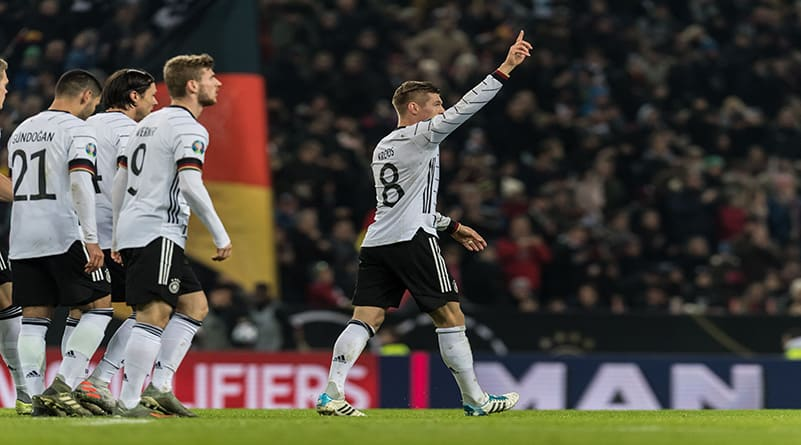 Toni Kroos fires as Germany are officially qualify to EURO 2020